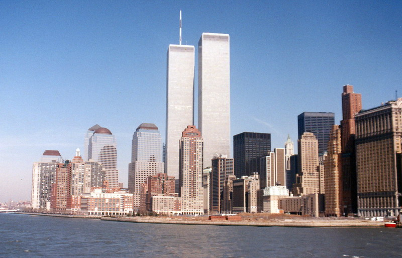World Trade Center, New York city, circa 1990